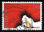 Sellos del Mundo : Europa : Suiza :  Fuego
