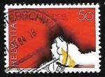 Stamps : Europe : Switzerland :  Fuego