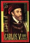 Sellos de Europa - España -  Carlos V - a los 40 años