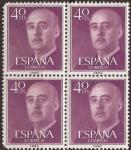Sellos del Mundo : Europa : España : General Franco  1955  40 cent