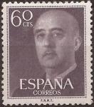 Sellos del Mundo : Europa : España : General Franco  1955  60 cents