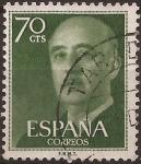 Sellos del Mundo : Europa : España : General Franco  1955  70 cents