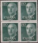 Sellos del Mundo : Europa : España : General Franco  1955  80 cents