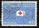Sellos de Europa - Suiza -  Bandera de la cruz roja
