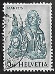 Stamps Switzerland -  Apostol Marcus