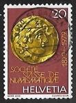 Sellos de Europa - Suiza -  Golden quarter Stater