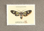 Stamps Africa - Angola -  Mariposa
