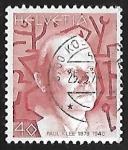 Stamps Switzerland -  Paul Klee (1879-1940)