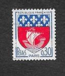 Stamps France -  Armas de París