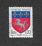 Stamps France -  1143 - Armas de Saint-Lo
