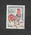 Stamps : Europe : France :  1024B - El Gallo