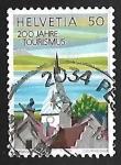 Stamps Switzerland -  Zyt tower, Zug