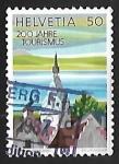Sellos de Europa - Suiza -  Zyt tower, Zug