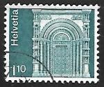 Sellos de Europa - Suiza -  Gallus Gate
