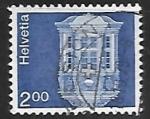 Sellos de Europa - Suiza -  Oriel, Schaffhausen
