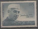Sellos de Asia - India -  JAWAHARLAL NEHRU (1889-1964) PRIMER MINISTRO,