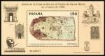 Sellos de Europa - España -  Carta de San Juan de la Cosa