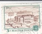 Stamps : Europe : Hungary :  PANORAMICA DE PEST 1872