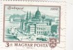 Stamps : Europe : Hungary :  PANORAMICA DE BUDAPEST 1972