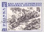 Stamps : Europe : Poland :  XXV ANIVERSARIO BATALLA