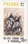 Stamps : Europe : Poland :  CARRUAJE