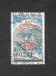 sellos de Europa - Francia -  Serie Turística