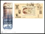 Stamps Spain -  Carta de San Juan de la Cosa - SPD