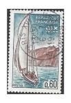 Stamps France -  Serie Turística