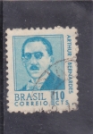 Stamps : America : Brazil :  ARTHUR BERNARDES
