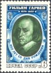 Sellos de Europa - Rusia -  400 ° aniversario de nacimiento de William Harvey.