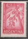 Sellos del Mundo : America : Argentina : AYUDA A CHILE-SEIBO FLOR NACIONAL DE CHILE