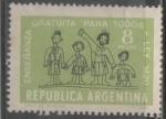 Sellos del Mundo : America : Argentina : ENSEÑANZA GRATUITA PARA TODOS