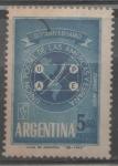 Sellos del Mundo : America : Argentina : UPAE UNIÓN POSTAL DE LAS AMERICAS Y ESPAÑA