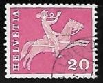 Stamps Switzerland -  Cartero