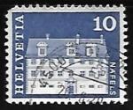 Stamps Europe - Switzerland -  Freuler-Palace, Näfels