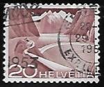 Stamps Europe - Switzerland -  Diques y Represas