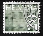 Stamps Europe - Switzerland -  Digits