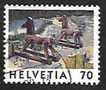 sellos de Europa - Suiza -  Juego de niños | Juguetes |