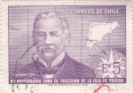 Stamps : America : Chile :  ANIVERSARIO TOMA DE POSESIÓN ISLA DE PASCUA
