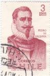 Stamps : America : Chile :  PEDRO DE VALDIVIA