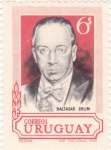 Stamps : America : Uruguay :  BALTASAR BRUM