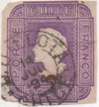 Stamps America - Chile -  Y & T Nº 00 [1]
