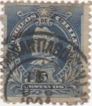 Stamps America - Chile -  Y & T Nº 44