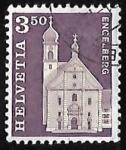 Sellos de Europa - Suiza -  Benedictiner Abby