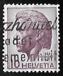 Stamps Switzerland -  Pestalozzi, Johann Heinrich (1746-1827)