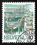 Sellos de Europa - Suiza -  Servicios Postales