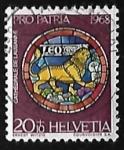 Stamps Switzerland -  Zodiaco - Leo