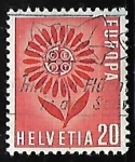 Stamps Switzerland -  Europa - Flor