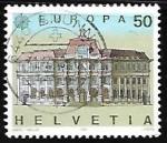 Sellos de Europa - Suiza -  Europa- oficina de correos