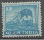 Sellos de Asia - India -  LOCOMOTORA ELÉCTRICA